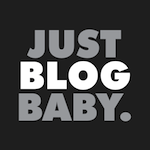 Just Blog Baby Logo