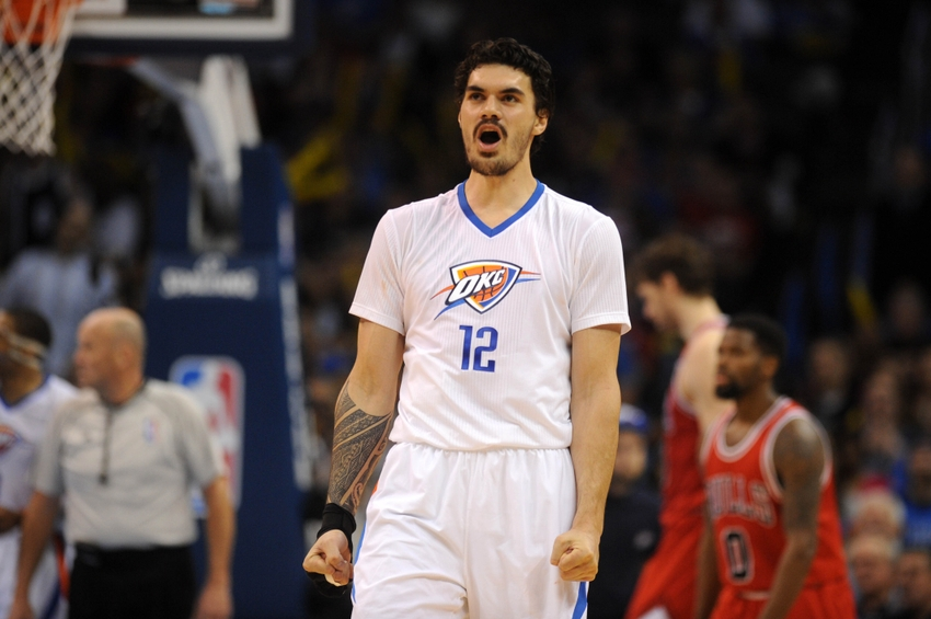 steven adams has a hilarious excuse for shaving his beard. Black Bedroom Furniture Sets. Home Design Ideas