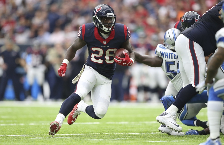 Texans Running Game Improves