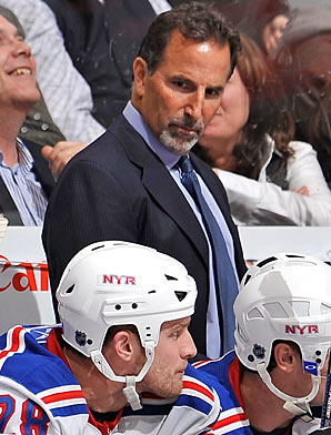 Tortorella takes over the reigns of the Rangers (alefko.blogspot.com)