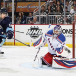 The glove of Lundqvist could not be permeated tonight (Christian Petersen/Getty Images).