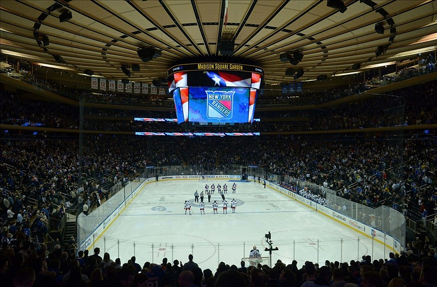 New York Rangers Homecoming At Madison Square Garden