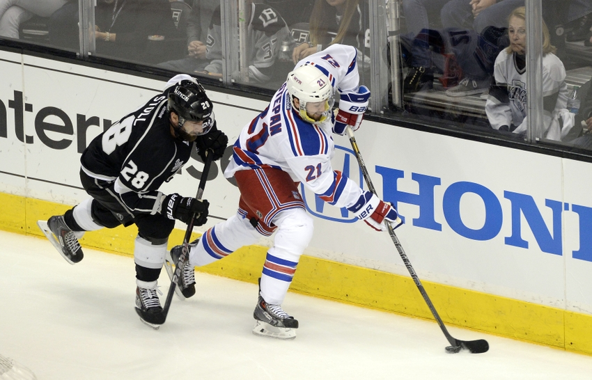 Kings forward Gaborik leaves game