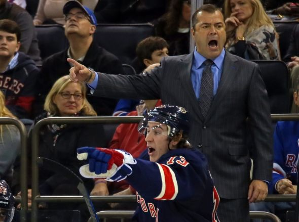 New York Rangers Daily Dose: Coach's Challenge - Blue Line Station - Bluelinestation.com