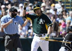 Josh Reddick still has one option remaining. He's currently batting .103 and was 0-5 in his last game on Wednesday against the Twins with four strike outs and a grounded-into double play Credit: Christopher Hanewinckel-USA TODAY Sports