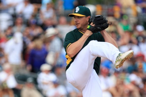 oakland athletics a reunion with scott kazmir could be on
