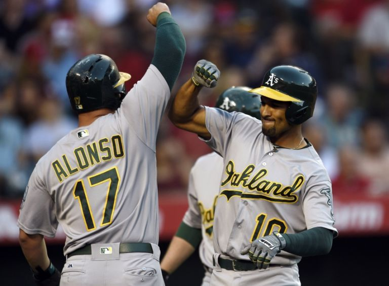 Marcus-semien-yonder-alonso-mlb-oakland-athletics-los-angeles-angels-768x564