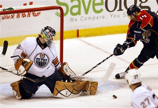 Oilers Panthers Hockey