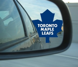 leafs in the rearview mirror