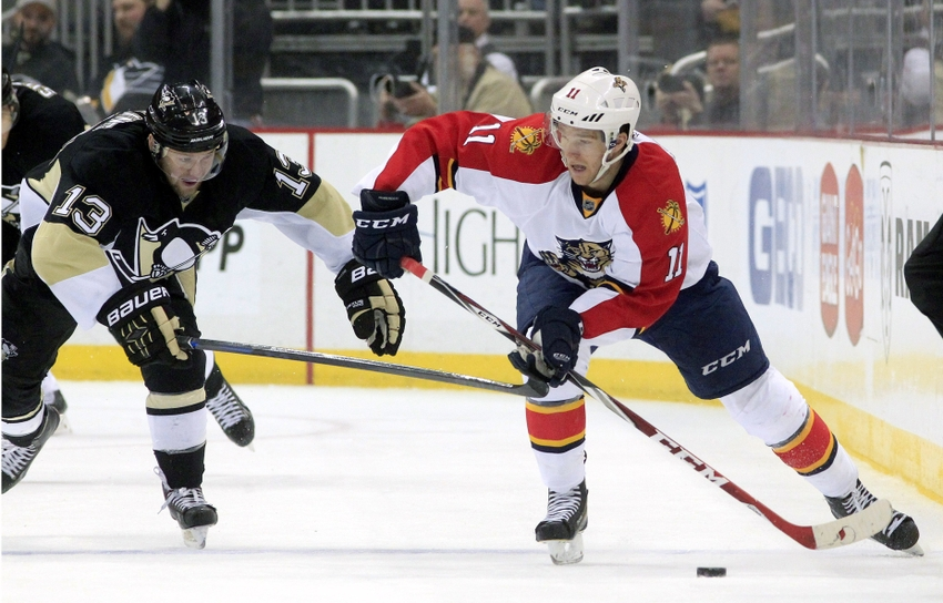 Jonathan-huberdeau-nick-spaling-nhl-florida-panthers-pittsburgh-penguins