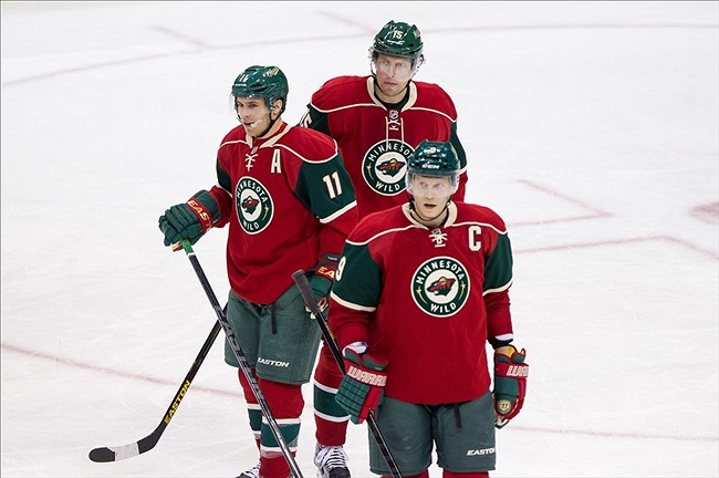 Charlie Coyle to Possibly Skate on Wild's Top Line