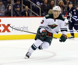 Minnesota Wild forward Charlie Coyle had the game winning goal vs the Winnipeg Jets