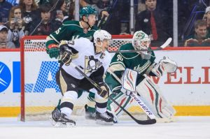 The Minnesota Wild continue to frustrate and shut down Sidney Crosby of the Pittsburgh Penguins.