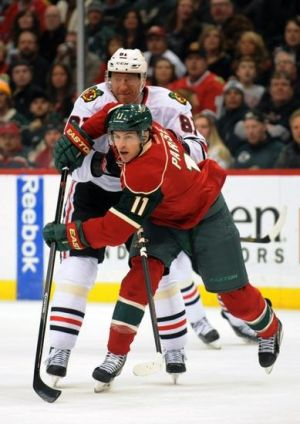 Minnesota Wild leading scorer in the Stanley Cup Playoffs Zach Parise