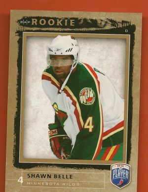 Shawn Belle Rookie Card Upper Deck Be A Player #'d to 999