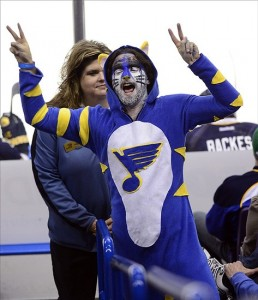St. Louis Blues Fan