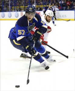 St. Louis Blues Winger David Perron