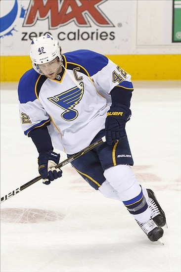 fantasy hockey - David Backes