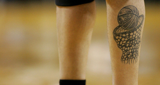 Mike Bibby Tattoo