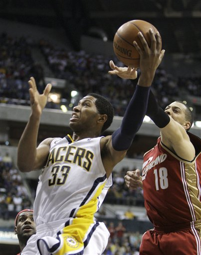 Granger scored 19 points and nine rebounds for the Pacers.