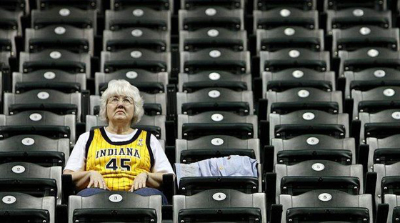 pacers conseco attendance