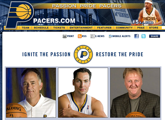 Pacers Restore the Pride