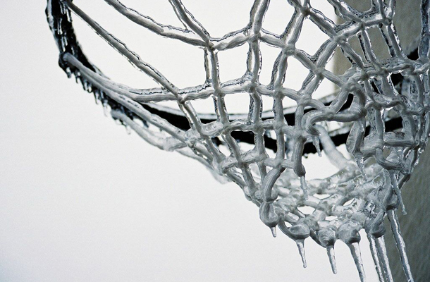 basketball snow
