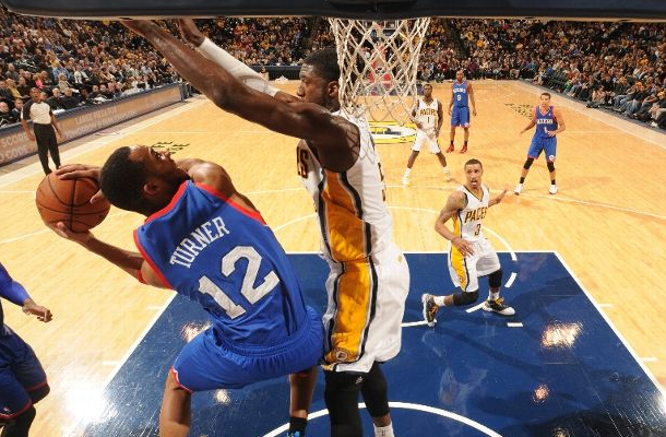 Roy Hibbert Block