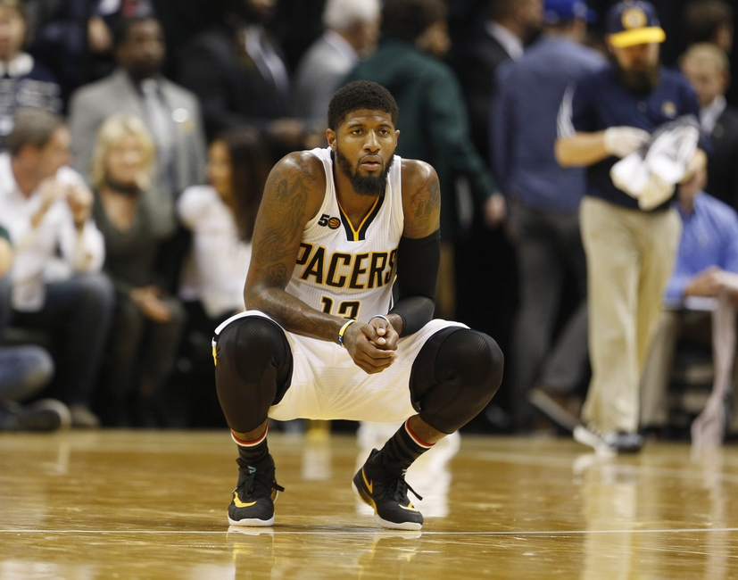 Paul George of the Indiana Pacers