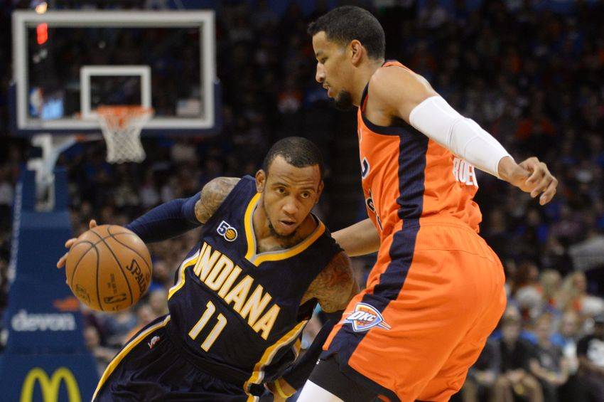 Monta Ellis of the Indiana Pacers