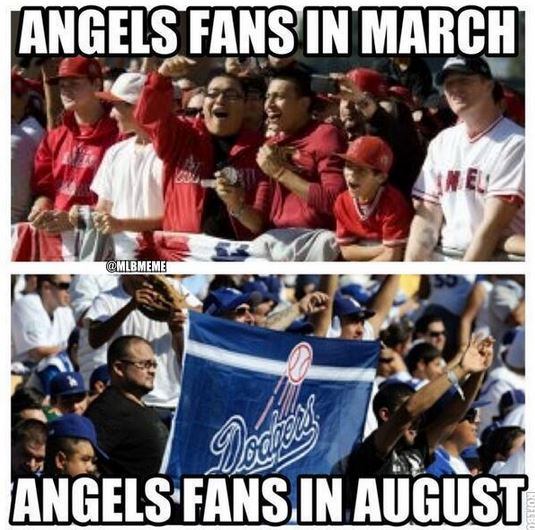 Capture the greedy pinstripes los angeles angels of anaheim fans meme