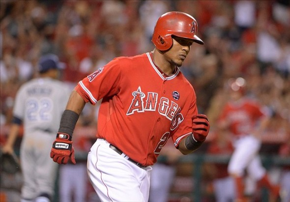 MLB: Tampa Bay Rays at Los Angeles Angels