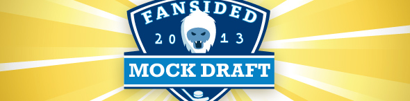 2013 Fansided NHL Mock Draft