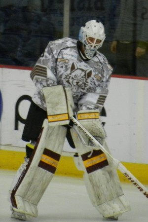 Mathieu Corbeil with the Chicago Wolves