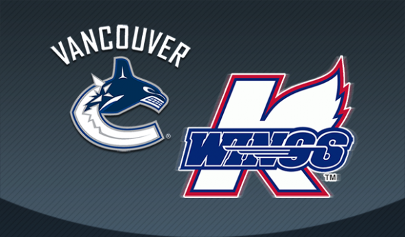 Vancouver Canucks / Kalamazoo Wings Logo