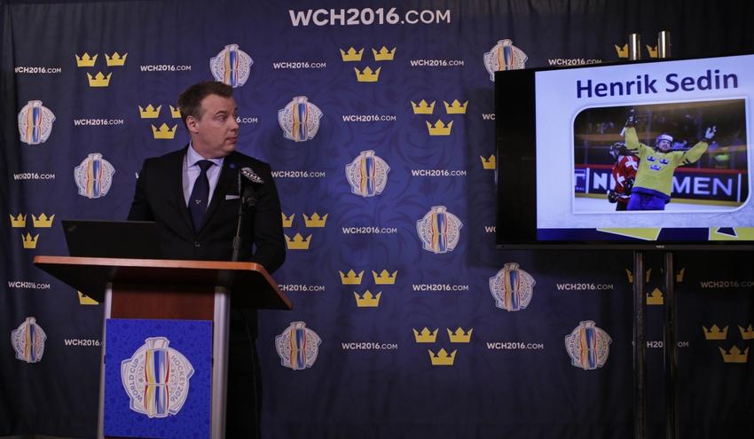 9152747-rikard-gronborg-henrik-sedin-hockey-world-cup-of-hockey-press-conference