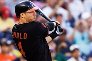 Nolan Reimold will try to reclaim his left field spot after being demoted early in the 2010 season