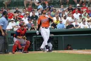 Nick Markakis (Photo by Rick Vattimo)