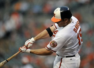 June 14, 2012; Baltimore, MD-Baltimore Orioles Chris Davis ... Credit: Joy R. Absalon-US PRESSWIRE