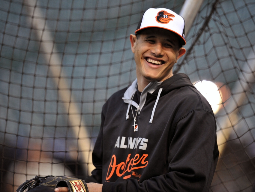 Manny-machado-mlb-alds-detroit-tigers-baltimore-orioles-workouts