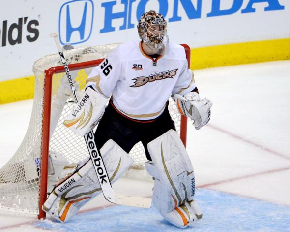 Ducks' 20-year-old John Gibson gets second straight start vs. K…