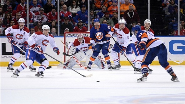 Snap Shots: Islanders Vs Canadiens — 12/14/13