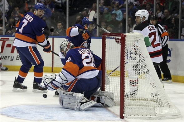 Snap Shots - Islanders Vs Devils 12/28/13