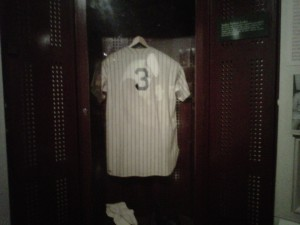 Babe Ruth locker