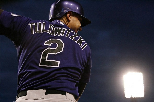Colorado Rockies shortstop Troy Tulowitzki
