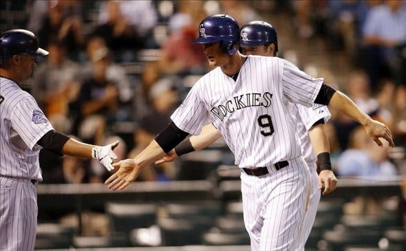 Colorado Rockies second baseman DJ LeMahieu