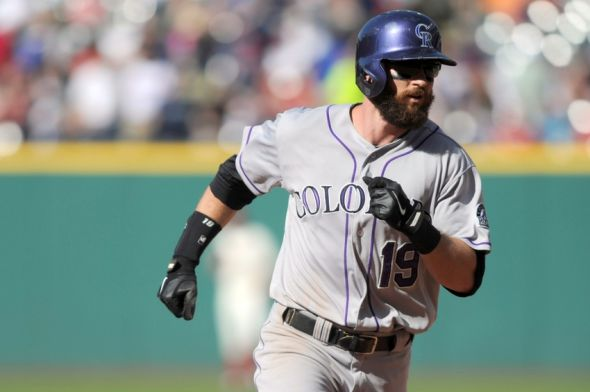Charlie Blackmon of the Colorado Rockies