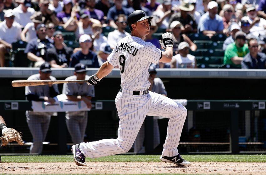 Lemahieu Mlb York Yankees Colorado Rockies Purple Monday  Watch