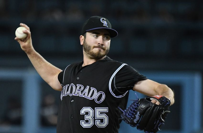 Chad Bettis of the Colorado Rockies