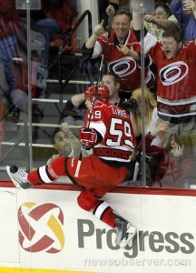 Chad LaRose Goal Celebration
